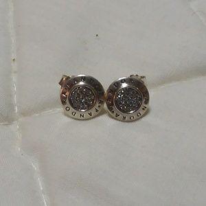 Pandora signature collection earrings